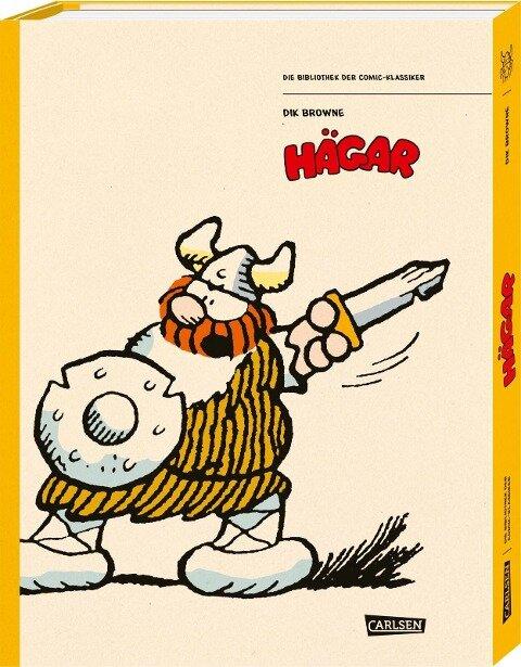 Die Bibliothek der Comic-Klassiker: Hägar, der Schreckliche - Dik Browne, Chris Browne