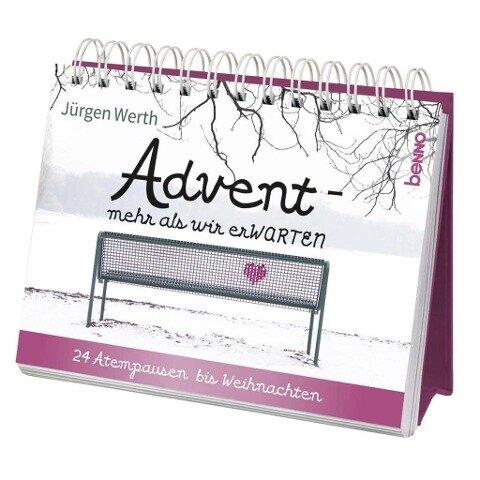 Adventskalender »Advent - mehr als wir erWARTEN« - Jürgen Werth
