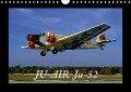 JU-AIR Ju-52 (Wandkalender 2018 DIN A4 quer) - k. A. gagel©gagelart