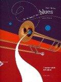 Playing Through The Blues. Posaune. Ausgabe mit CD - Fred Lipsius