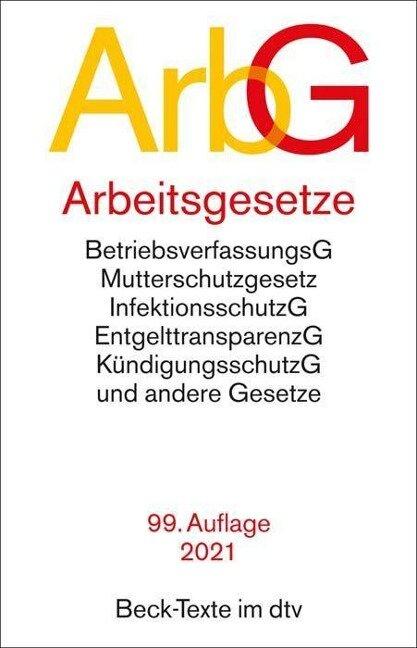 Arbeitsgesetze ArbG -