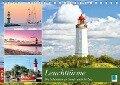 Leuchttürme: Die Schönsten an Nord- und Ostsee (Tischkalender 2018 DIN A5 quer) Dieser erfolgreiche Kalender wurde dieses Jahr mit gleichen Bildern und aktualisiertem Kalendarium wiederveröffentlicht. - K. A. Calvendo
