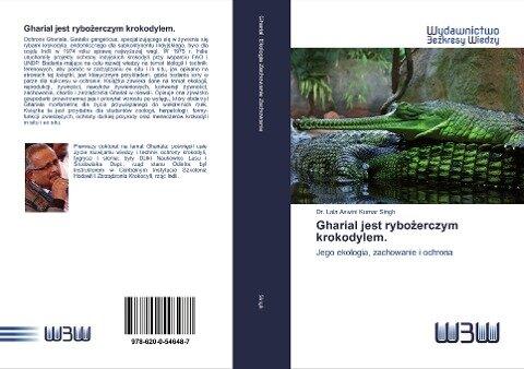 Gharial jest rybożerczym krokodylem. - Lala Aswini Kumar Singh
