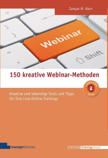 150 kreative Webinar-Methoden - Zamyat M Klein