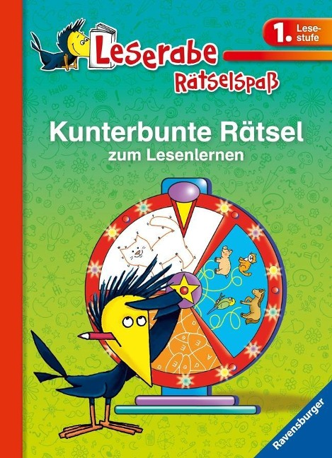 Kunterbunte Rätsel zum Lesenlernen (1. Lesestufe) - Lena Merk, Katja Volk