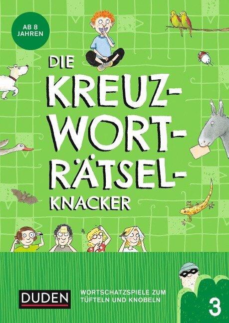 Die Kreuzworträtselknacker - ab 8 Jahren (Band 3) - Janine Eck, Kristina Offermann