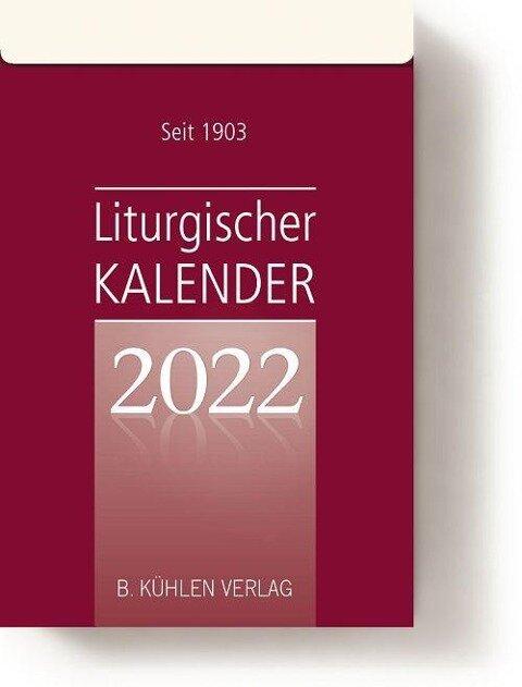 Liturgischer Kalender 2022. Tagesabreißkalender Block -
