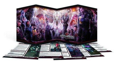 Shadowrun Sichtschirm-Pack (4-seitig im Hardcover) -