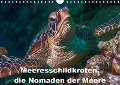 Meeresschildkröten, die Nomaden der Meere (Wandkalender 2019 DIN A4 quer) - Dieter Gödecke