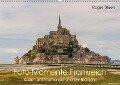Küsten der Normandie und der Bretagne (Wandkalender 2019 DIN A2 quer) - Roger Steen