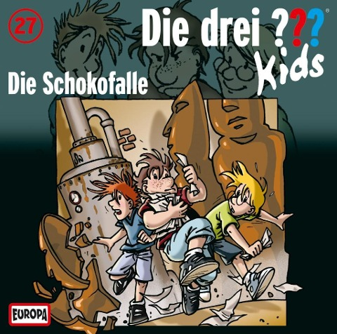Die drei ??? Kids 27. Die Schokofalle (drei Fragezeichen) CD -