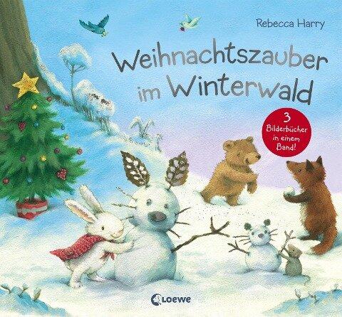 Weihnachtszauber im Winterwald