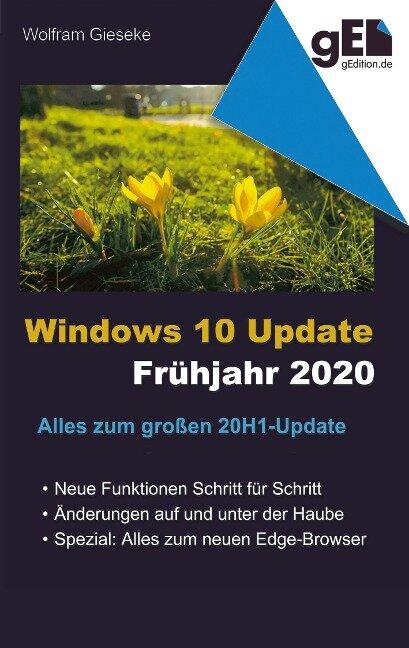 Windows 10 Update - Frühjahr 2020 - Wolfram Gieseke