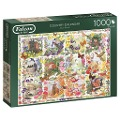 Country Calendar - 1000 Teile Puzzle -