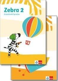 Zebra 2. Paket: Arbeitsheft Lesen/Schreiben/Arbeitsheft Sprache -
