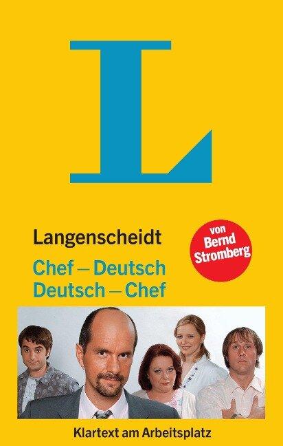 Langenscheidt Chef-Deutsch/Deutsch-Chef - Bernd Stromberg