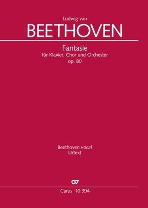 Fantasie für Klavier, Chor und Orchester (Klavierauszug) - Ludwig van Beethoven