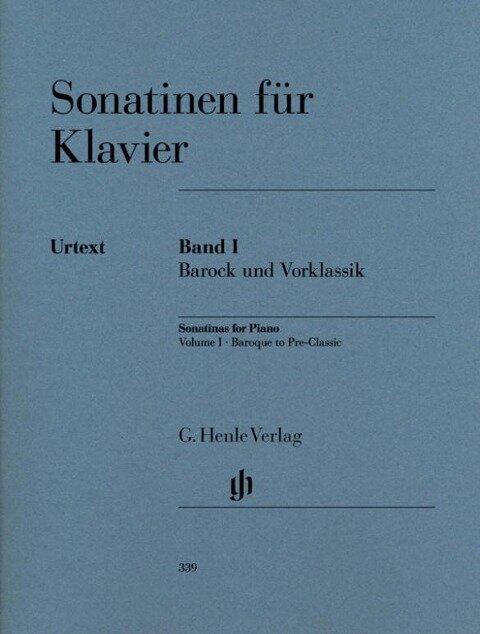 Sonatinen für Klavier Band I, Barock und Vorklassik -