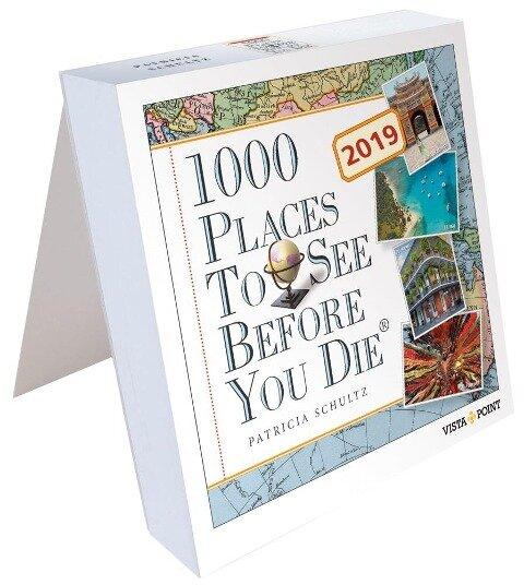 1000 Places To See Before You Die - Tageskalender 2019