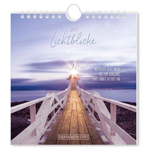 Lichtblicke 2021 Postkartenkalender -