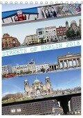 Streets of Berlin 2018 (Tischkalender 2018 DIN A5 hoch) - Jörg Rom / PANORAMASTREETLINE. COM