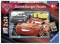 Disney Cars: Abenteuer mit Lightning McQueen. Puzzle 2 x 24 Teile -