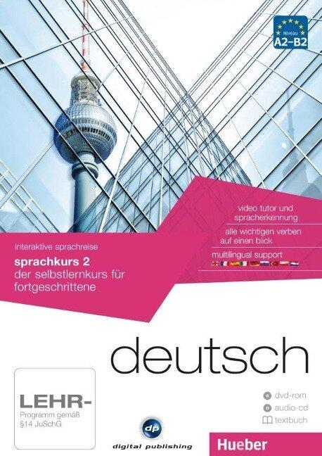 interaktive sprachreise sprachkurs 2 deutsch -
