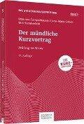 Der mündliche Kurzvortrag - Otto Campenhausen, Jana-Maria Liebelt, Dirk Sommerfeld