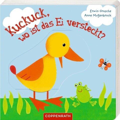 Kuckuck, wo ist das Ei versteckt? - Erwin Grosche