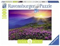Bergwiese im Morgenrot, Nature Edition. Puzzle 1000 Teile -