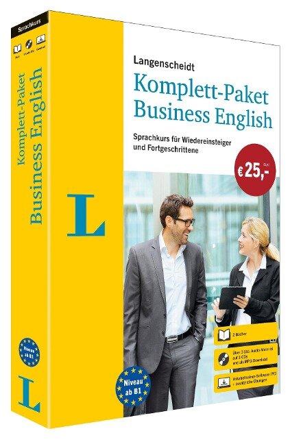 Langenscheidt Komplett-Paket Business English. Sprachkurs für Wiedereinsteiger und Fortgeschrittene -