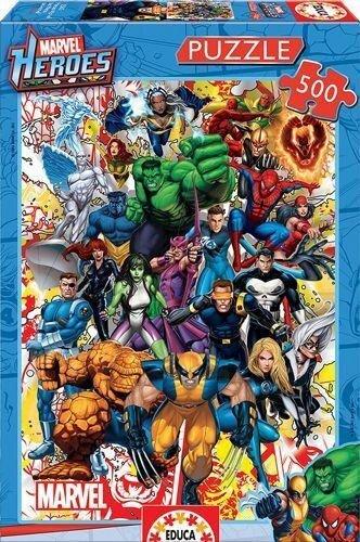 Educa - Marvel Super Heroes 500 Teile Puzzle -