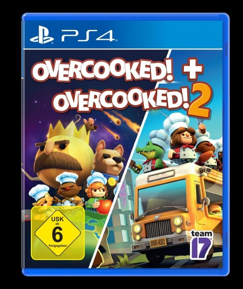 OVERCOOKED + OVERCOOKED! 2 Double Pack (PlayStation PS4) -