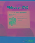 Videos on DVD with Optional Subtitles for Excursions in Modern Mathematics - Peter Tannenbaum