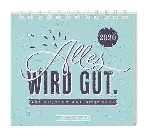 """Mini-Kalender 2020 """"Alles wird gut"""" -"""