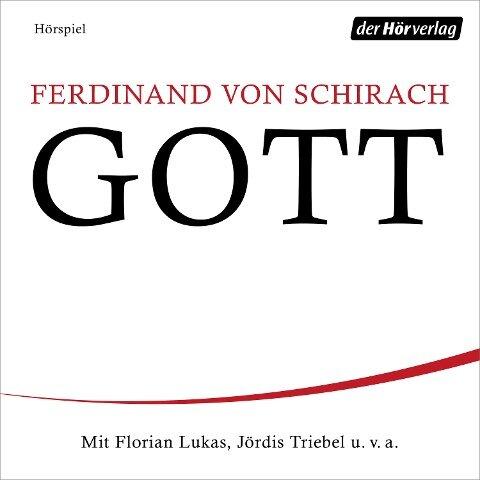 GOTT - Ferdinand von Schirach
