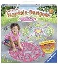 Outdoor Mandala-Designer Flowers & Butterflies Outdoor -