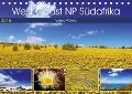 West Coast NP Südafrika 2018 (Tischkalender 2018 DIN A5 quer) - Wibke Woyke