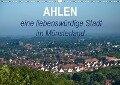 Ahlen eine liebenswürdige Stadt im Münsterland (Wandkalender 2018 DIN A3 quer) - Marianne Drews