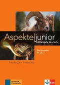 Aspekte junior B1 plus. Medienpaket (3 Audio-CDs + Video-DVD) - Ute Koithan, Helen Schmitz, Tanja Sieber, Ralf Sonntag