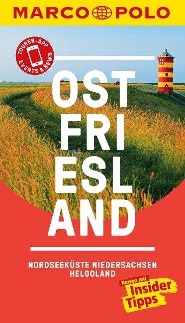 MARCO POLO Reiseführer Ostfriesland, Nordseeküste, Niedersachsen, Helgoland - Klaus Bötig
