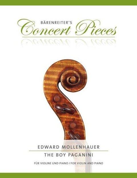The Boy Paganini - Edward Mollenhauer