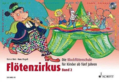 Flötenzirkus 2 - Rainer Butz, Hans Magolt
