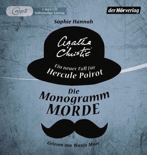 Die Monogramm-Morde - Sophie Hannah, Agatha Christie