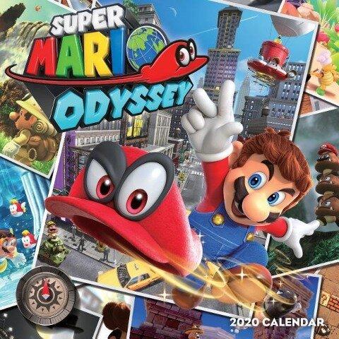 Nintendo: Super Mario Odyssey 2020 Wall Calendar -