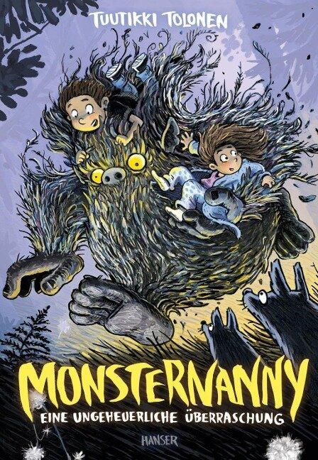 Monsternanny - Eine ungeheuerliche Überraschung - Tuutikki Tolonen
