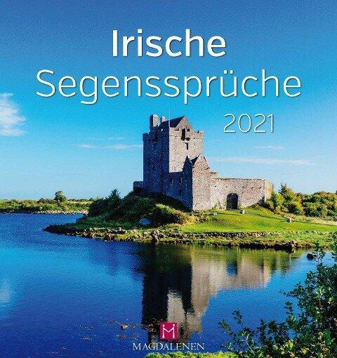 Irische Segenssprüche 2021 Postkartenkalender -