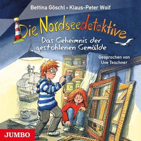 Die Nordseedetektive. Das Geheimnis der gestohlenen Gemälde - Bettina Göschl, Klaus-Peter Wolf