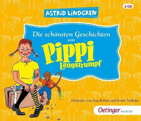 Die schönsten Geschichten von Pippi Langstrumpf (3CD) - Astrid Lindgren