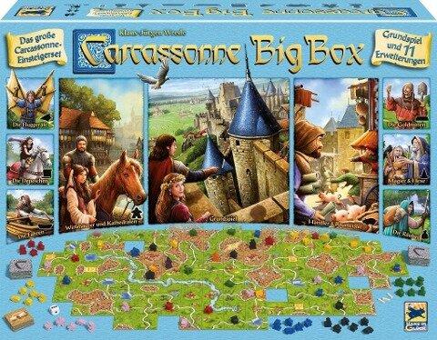 Carcassonne, Big Box 2017 -